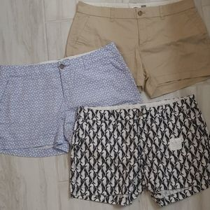 """Lot of 3 NWOT pairs of Old Navy 3.5"""" length shorts"""